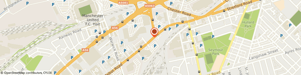 Route/map/directions to Wolfson & Co, M16 0PN Manchester, 60 Talbot Road