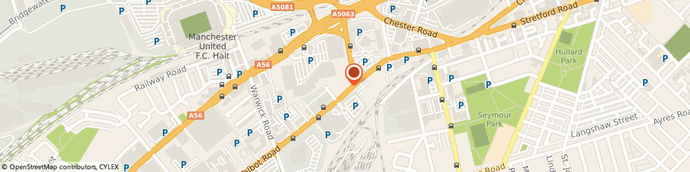 Route/map/directions to New Century Recruitment Ltd, M16 0PN Manchester, 60 Talbot Rd