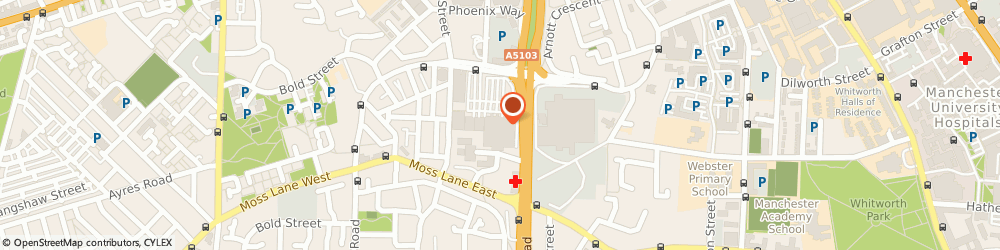 Route/map/directions to McDonald's - Manchester, M15 5AS Manchester, 100 Princess Road