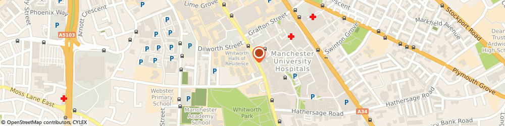 Route/map/directions to SPAR Stone Manchester University, M13 9NG Manchester, 332 -338 Oxford Road