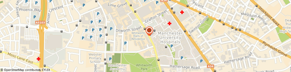 Route/map/directions to Lloyds Bank - Manchester, M13 9NG Manchester, 324/326 Oxford Road