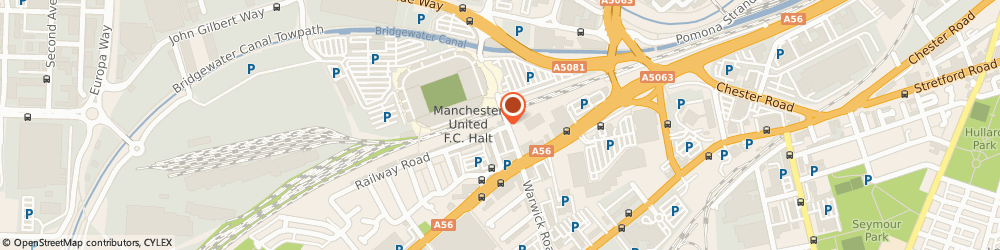 Route/map/directions to Manchester United Foundation, M16 0RA Manchester, 26 Sir Matt Busby Way