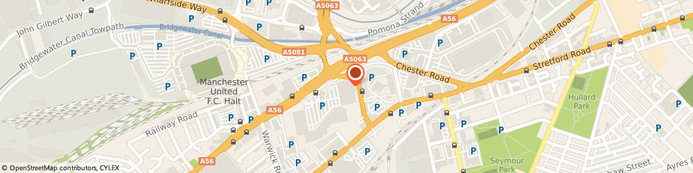 Route/map/directions to DPD Parcel Shop Location - Currys PC World, M16 0RP Manchester, Chester Road