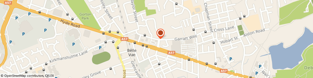 Route/map/directions to Gorton Police Station, M18 8HE Manchester, 18 Garratt Way