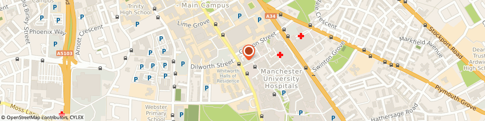 Route/map/directions to Domino's Pizza - Manchester - Oxford Road, M13 9WG Manchester, Unit 4 403 - 419 Oxford Road