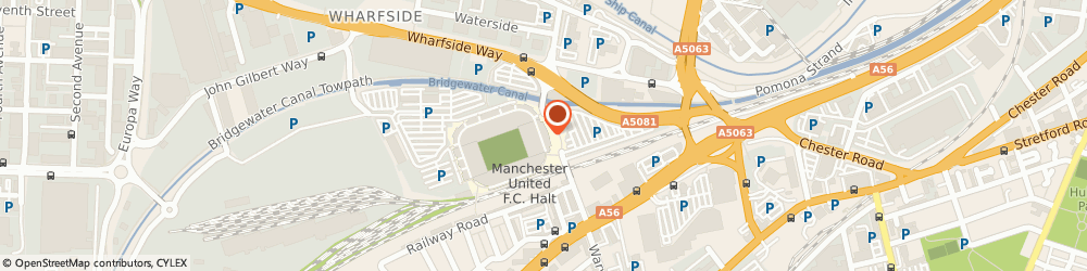 Route/map/directions to Special Projects Security Ltd., M16 0RJ Manchester, SPS HOUSE OFF UNITED ROAD
