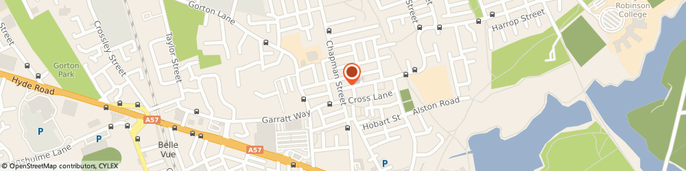 Route/map/directions to The Handy Corner, M18 8LZ Manchester, 128 Chapman St