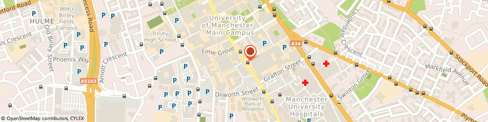 Route/map/directions to NatWest - MANCHESTER ATM, M13 9WL Manchester, Oxford Road