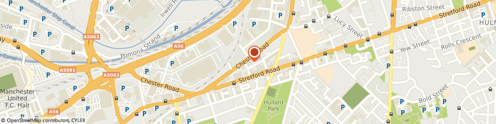 Route/map/directions to Mantax Taxis Ltd, M16 9HF Manchester, 493-495 Chester Rd