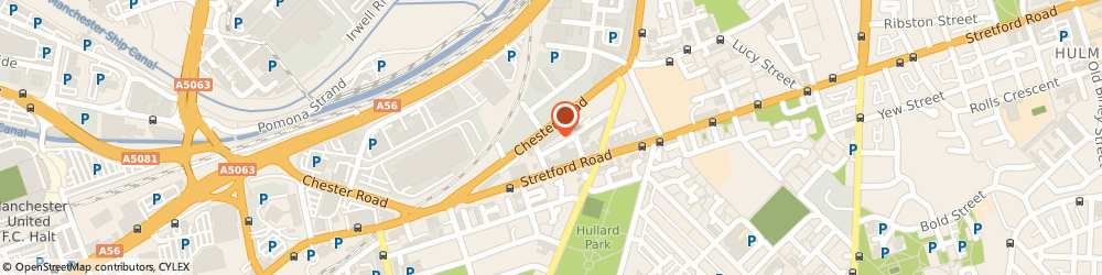 Route/map/directions to Captions, M16 9HF Manchester, RED BRICK HOUSE, 491 CHESTER ROAD