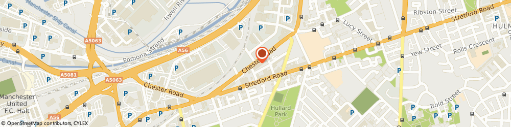 Route/map/directions to AGI CRIMINAL SOLICITORS LIMITED, M16 9HF Manchester, 489 Chester Road