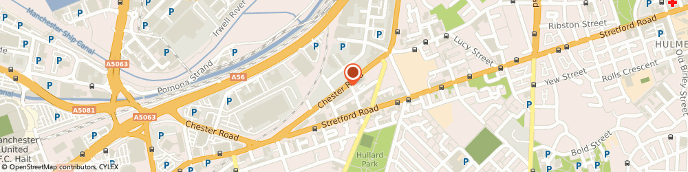 Route/map/directions to Budsworth & Co, M16 9HD Manchester, 454, Chester Road