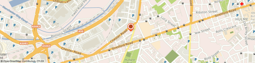 Route/map/directions to Fep Heat Care, M16 9HA Manchester, 455 Chester Rd