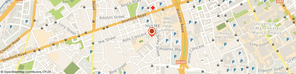 Route/map/directions to Wing Chun International Manchester Hulme, M15 5FS Manchester, Jarvis Road, Claremont Resource Centre