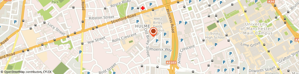 Route/map/directions to XTRAX, M15 5RF Manchester, 51 Old Birley Street