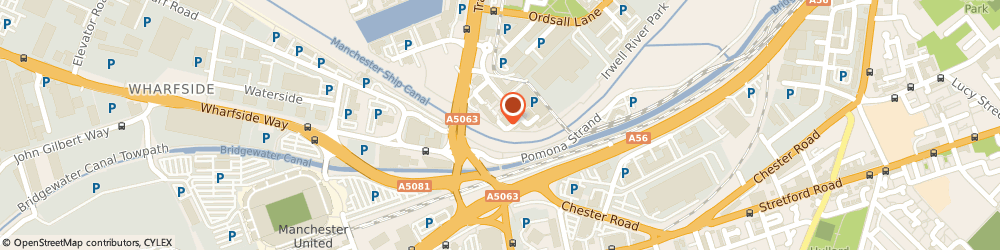 Route/map/directions to Network Logistics Uk, M5 3EJ Salford, 8 Exchange Quay