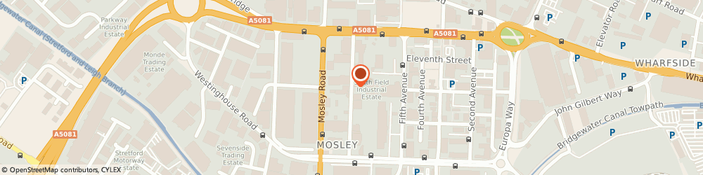 Route/map/directions to D K Hughes Plumbing & Heating, M17 1PQ Manchester, Unit 2, Praed Road