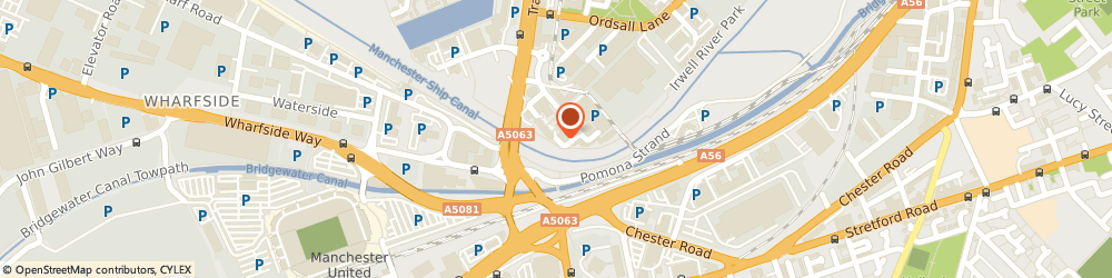 Route/map/directions to Blue Arrow Manchester, M5 3EQ Salford, Salford Quays