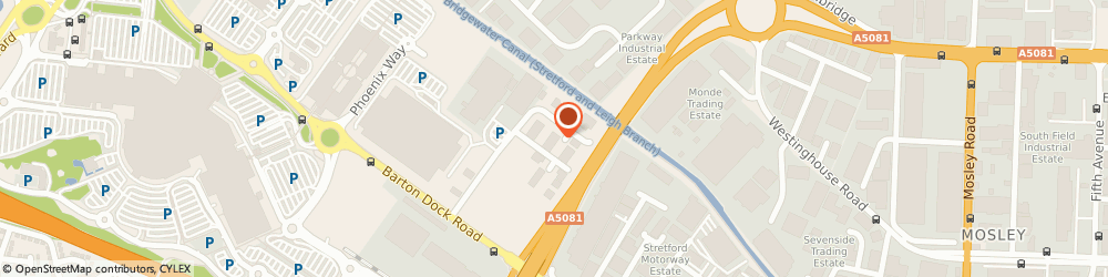 Route/map/directions to Barclays Bank ATM, M41 7LY Manchester, Boots, Bridge Link, Trafford Park