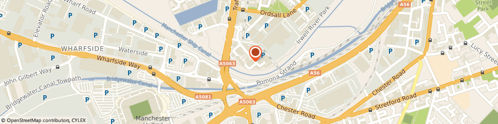 Route/map/directions to Crawford - Manchester, M5 3EJ Manchester, 8 Exchange Quay