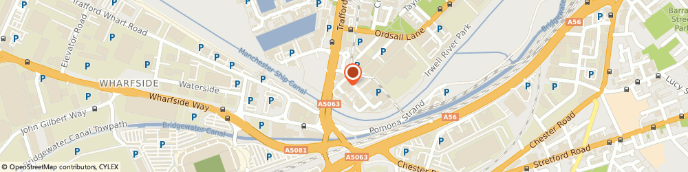 Route/map/directions to CYCLEXPERIENCE LIMITED, M5 3EE Salford, 4 Exchange Quay