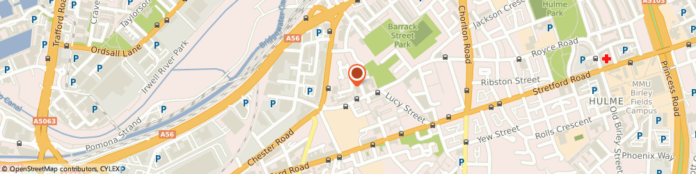 Route/map/directions to M Travel Minibuses, M15 4EH Manchester, 25 Cornbrook Park Rd