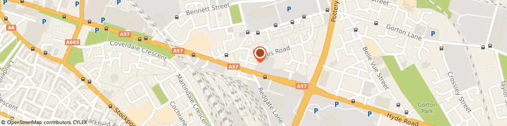 Route/map/directions to Central Heating & Plumbers (Manchester), M12 5EE Manchester, 17 Fairhaven Street