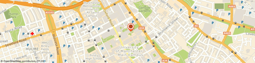 Route/map/directions to CPI The Centre for Process Integration, M13 9PL Manchester, ROOM B7, THE MILL, THE UNIVERSITY OF MANCHESTER, OXFORD ROAD