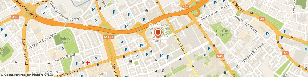 Route/map/directions to Marriage Care, M15 6BY Manchester, Lower Chatham Street