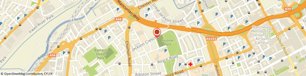 Route/map/directions to Castlefield Campus, M15 5AL Manchester, JACKSON CRESENT