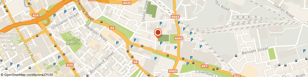 Route/map/directions to A & N Knitwear Limited, M12 6BG Manchester, 25 Dolphin Street, Dalberg House
