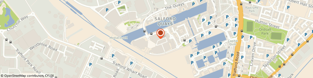 Route/map/directions to The Works, M50 3AG Salford, Unit G04 The Lowry Outlet