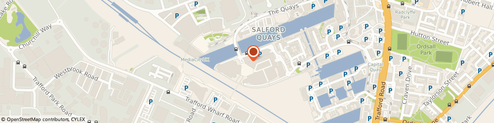 Route/map/directions to Thinktank Video Productions, M50 3UB Salford, Digital World Centre 1 Lowry Plaza