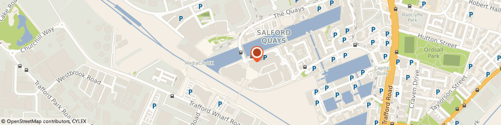 Route/map/directions to Griff Services Ltd, M50 3UB Salford, 1 Lowry Plaza, The Quays
