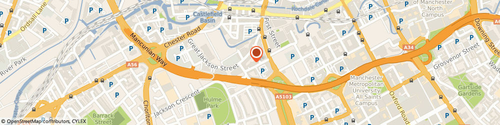 Route/map/directions to Concept Solutions, M15 4QE Manchester, 155 City South, 39 City Road East
