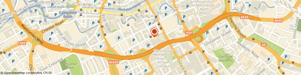 Route/map/directions to Smart Movement Marketing, M1 5GD Manchester, Innospace, The shed, Chester street