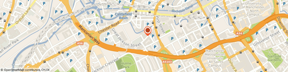 Route/map/directions to Lumiere Clinic, M15 4QN Manchester, 38 City Road East