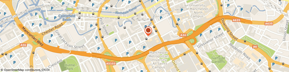 Route/map/directions to Faculty of Engineering and Physical Sciences, M1 5QF Manchester, 8a Lower Ormond St