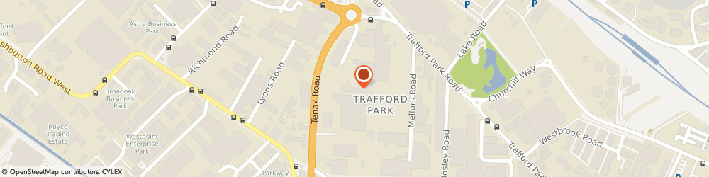 Route/map/directions to Actavo, M17 1JT Manchester, Tennax Road