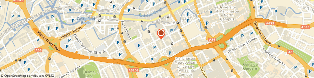 Route/map/directions to ARMSTRONG WORKS LIMITED, M1 5BW Manchester, 26 Hulme Street