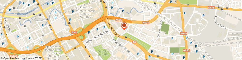 Route/map/directions to Richard Goulding, M12 6HS Manchester, Tanzaro House