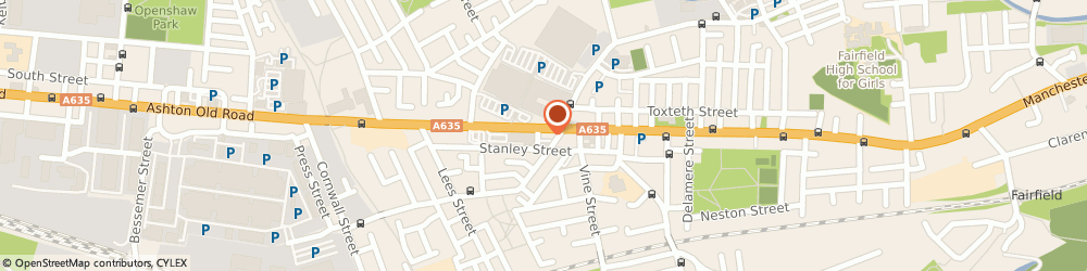 Route/map/directions to Pets Send A Card, M11 1JJ Manchester, 1284, ASHTON OLD ROAD