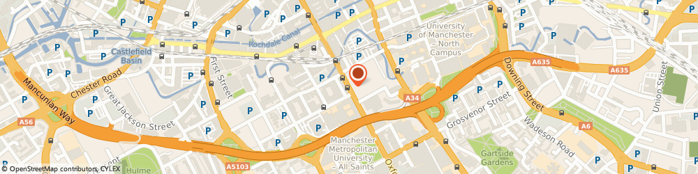 Route/map/directions to Inacity, M1 5QA Manchester, 12 OXFORD ROAD