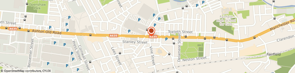 Route/map/directions to Standguide Ltd, M11 1JG Manchester, 1294-1296 ASHTON OLD ROAD