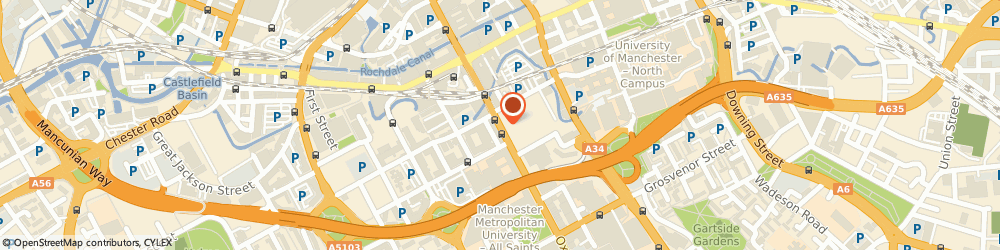 Route/map/directions to SUBWAY RESTAURANT, M1 5QA Manchester, 12 Oxford Road