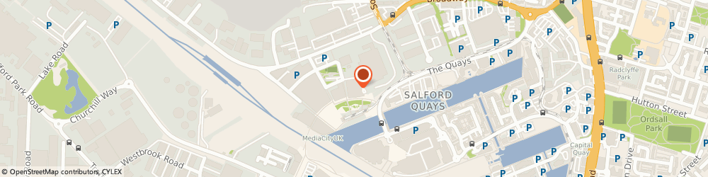 Route/map/directions to Libra Television Limited, M50 2EQ Salford, THE GREENHOUSE, MEDIACITYUK