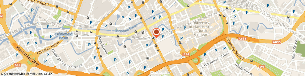 Route/map/directions to Kimpton Clocktower Hotel, M60 7HA Manchester, Oxford Street