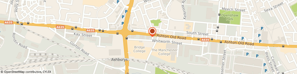 Route/map/directions to Incognito Ltd, M11 2DW Manchester, City Course Trading Estate, Whitworth St