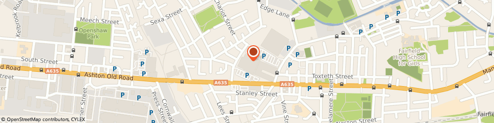 Route/map/directions to Peak Pharmacy, M11 1DA Manchester, Unit 11, Lime Square Ashton Old Road