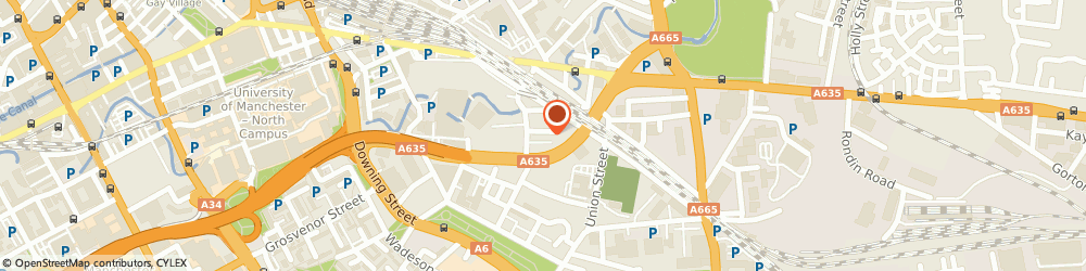Route/map/directions to Complete Asbestos Removal & Environmental Limited, M12 6HG Manchester, REDGATE HOUSE HOYLE STREET